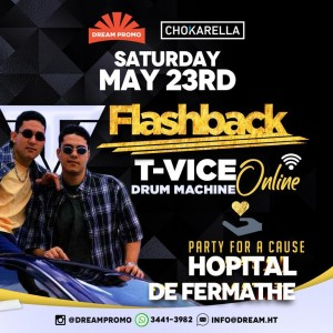 TVice Drum Machine Flashback Live For a Cause - Sa Fe Map Paye