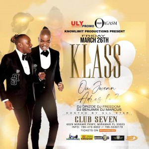 KLASS LIVE @ CLUB 7 IN MIAMI - SE OU SEL MWEN GENYEN
